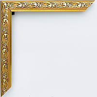 Фоторамка 10х15 багет 18 мм золотая