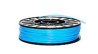 Нить ABS (АБС) пластик для 3D принтера, 1.75 мм, голубой