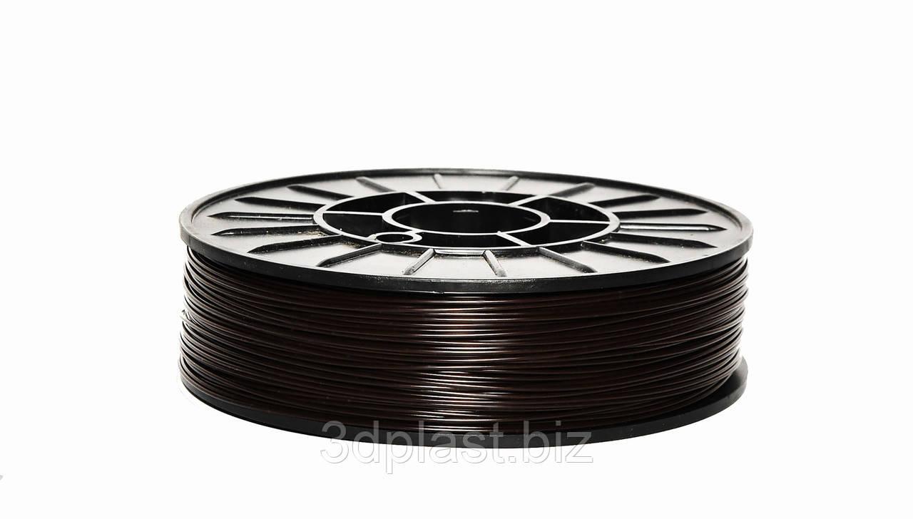Нить ABS (АБС) пластик для 3D принтера, 1.75 мм, коричневый