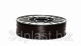 Нитка ABS (АБС) пластик для 3D принтера, 1.75 мм, коричневий