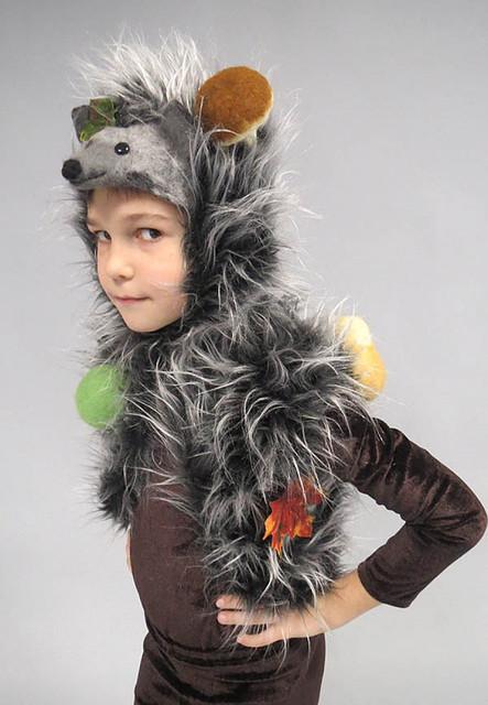 Ёжик. Детский карнавальный костюм.