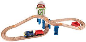 Chuggington деревянная дорога  Wooden Railway Easy Track- Cargo Crossover