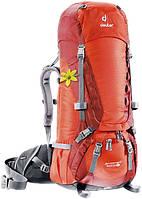 Треккинговый рюкзак для женщин Deuter Aircontact 40+10 SL papaya/lava (33412 9503)