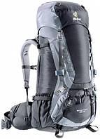 Треккинговый рюкзак Deuter Aircontact 45+10 black/titan (33422 7490)