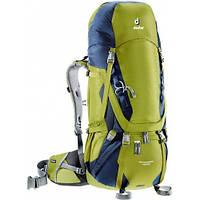 Треккинговый рюкзак Deuter Aircontact 45+10 moss/navy (3320116 2313)