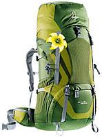 Треккинговый рюкзак для женщин Deuter Aircontact 50+10 SL pine/moss (3320216 2250)