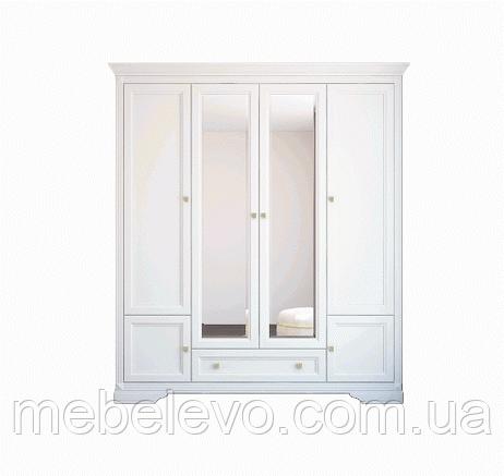 Гербор Клео шкаф 4d1s  2250х1980х620мм белый