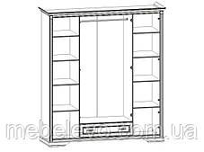 Гербор Клео шкаф 4d1s  2250х1980х620мм белый , фото 2