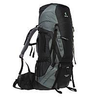 Треккинговый рюкзак Deuter Aircontact 55+10 black/titan (3320316 7490)