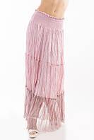 Юбка в пол длинная Турция штапель жатка цвета в ассортименте, фото 1