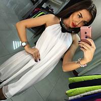Шифоновое свободное платье . Цвета Клеопатра ЯЛ, фото 1