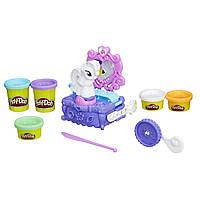 Play-Doh My Little Pony Игровой набор Туалетный столик Рарити Vanity Rarity Style & Spin Set