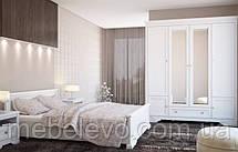 Гербор Клео кровать 160  750х1660х2090мм белый , фото 3