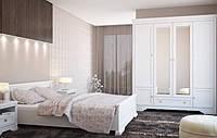 Гербор Клео спальня 4Д белый