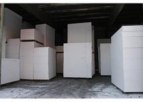 Пенопласт ПСБ 25 размер 5х100х100 (5см) 17 кг/м3