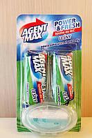 Гигиенический блок для унитаза Agent Max (лесной аромат) 3 шт.