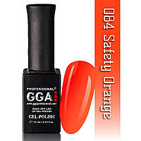 Гель-лак GGA Professional №84 Safety Orange  10 мл.