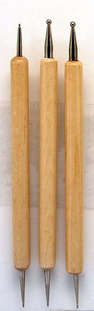 Набор дотсов  для дизайна ногтейю 3 шт. YRE пр-во Юж. Корея