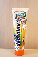 Детская зубная паста Dentalux (апельсин) 100 мл. Германия