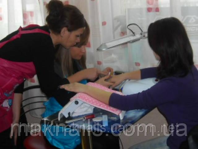 Курсы наращивания и дизайна ногтей в студии ногтевого сервиса MaknailS. (15 дней)
