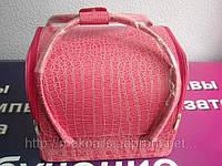 Бьюти-кейс. сумка для мастеров индустрии красоты  Цвет - розовый, лаковый