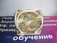 Бьюти-кейс. сумка для мастеров индустрии красоты . С леопардовым принтом.