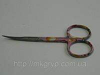 Ножницы маникюрные для кутикулы (узкие) NAIT STS 0178-6. Термичеки обработанные!, фото 1