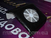Витяжка пилу (міні пилосос), колір-чорний, для майстрів нігтьового сервісу пр-во. Пд. Корея