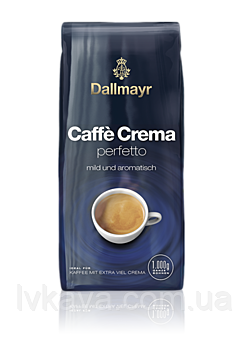 Кофе в зернах  Dallmayr Caffè Crema Perfetto  ,  1 кг