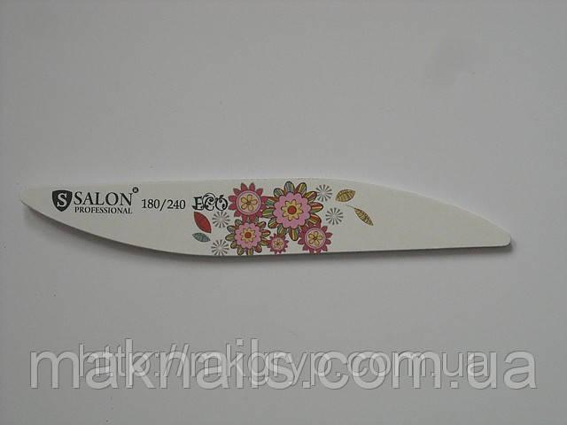 Пилка для ногтей Salon Professional ECO 180\240 капля
