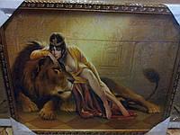 """Картина """"Клеопатра со львом """"44""""54"""