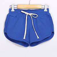 Женские спортивные шорты летние синий