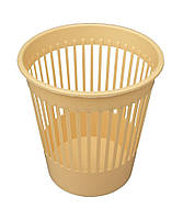 """Корзина для мусора пластиковая на 10 литров """"Горизонт"""" + Видео"""