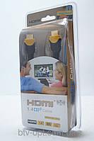 HDMI кабель 5м для ТВ и видео электроники с золотым напылением, кабель для ТВ, HDMI кабель