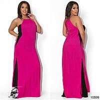 Летнее платье в пол в расцветках БАТ 336 (1162/1)