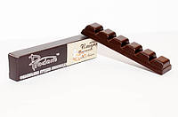 Выручалочка (батончик 25 г) из ИМБИРНОГО черного шоколада Prodan`s