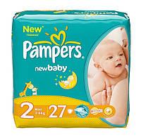 Подгузники Pampers New Baby-Dry Mini 2 (Памперс) 3-6кг №27