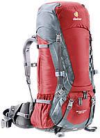 Треккинговый рюкзак Deuter Aircontact 55+10 cranberry/titan (33442 5440)