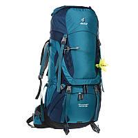 Треккинговый рюкзак для женщин Deuter Aircontact 60+10 SL denim/midnight (3320416 3353)