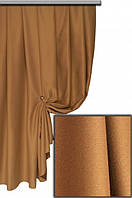 Ткань блекаут однотонный Camel Турция