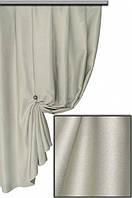 Ткань блекаут однотонный серый №D102 Турция
