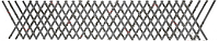 Фриз декоративный  из полосы 12х6 размер 310 мм х 1470 мм Арт. AD-13.096 невальц.