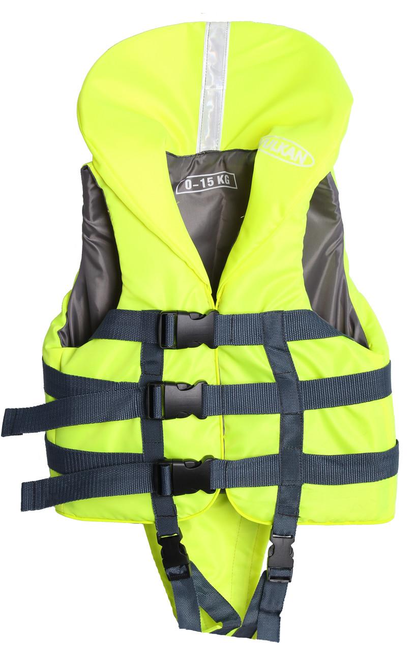 Детский спасательный жилет для самых маленьких 0 -15кг