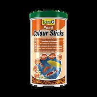 Tetra Pond Colour Sticks Способствует проявлению естественного окраса рыб во всем его великолепии