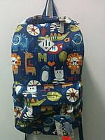Городской джинсовый рюкзак  ультрамодный 2016