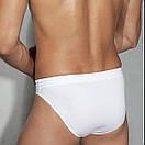 Чоловічі білі труси 100% бавовна Doreanse 1005, фото 2