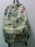 Городской джинсовый рюкзак коллекция 2016