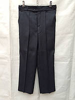 Школьные брюки детские на мальчика 6-13 лет,темно синие