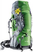 Треккинговый рюкзак для женщин Deuter Aircontact PRO 65+15 SL emerald/titan (33833 2404)