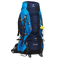 Треккинговый рюкзак для женщин Deuter Aircontact PRO 65+15 SL midnight/turquoise (33833 3306)